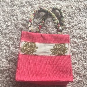 3/$15 Red made in Nepal bag